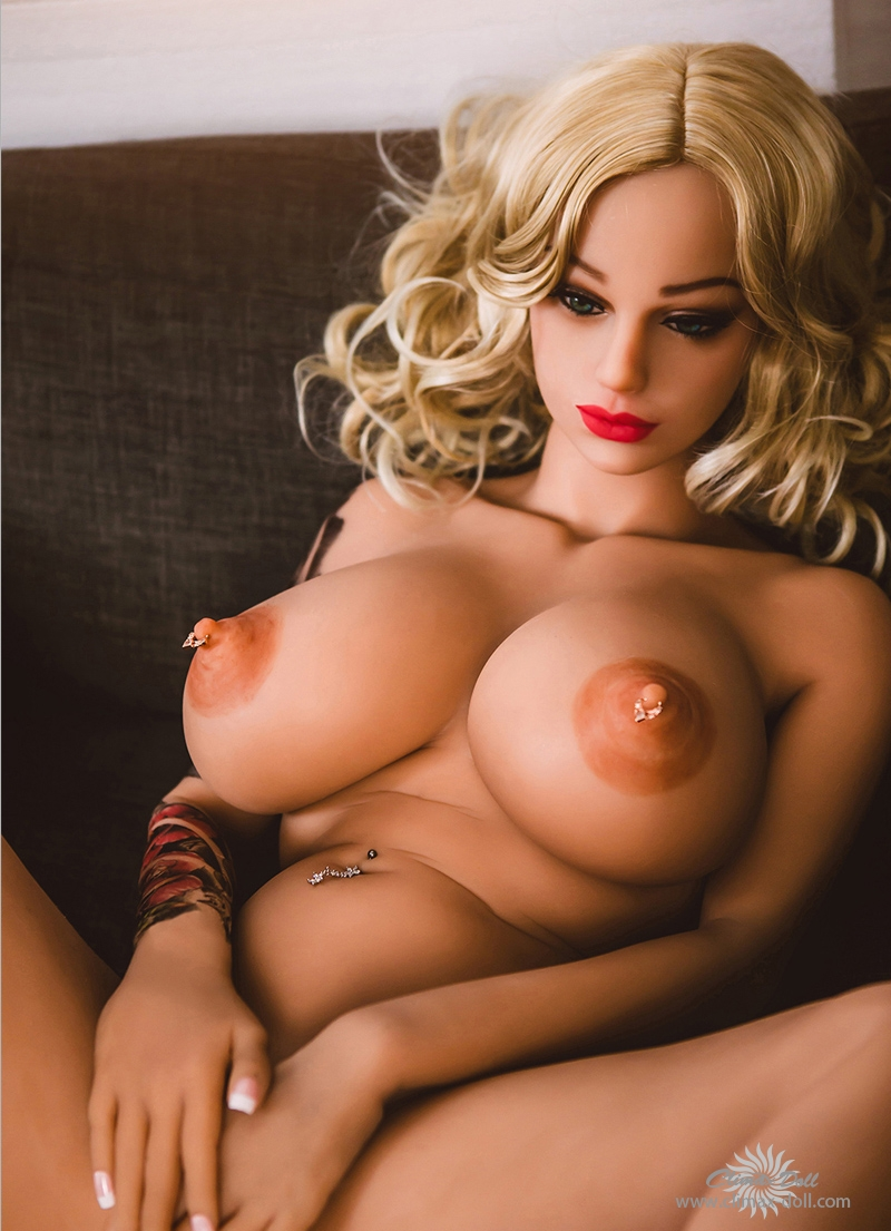 CLM doll Rose-160cm-face 30- suntan skin TPE sex doll
