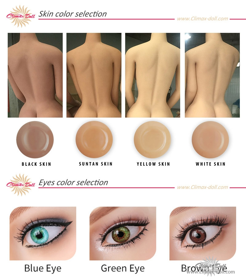 climax doll skin colors
