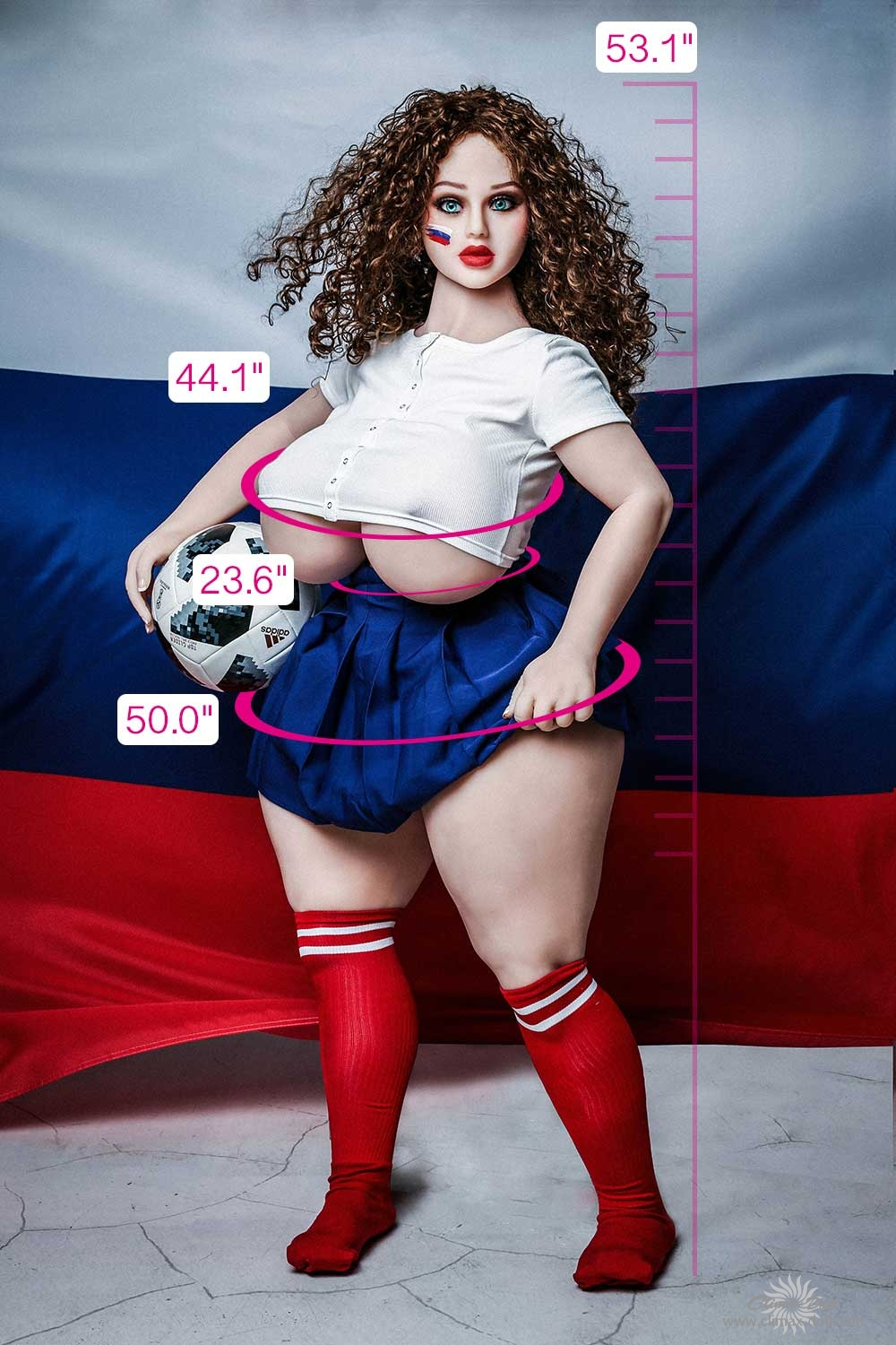 TPE BBW Molly-135cm- CLM doll sex doll
