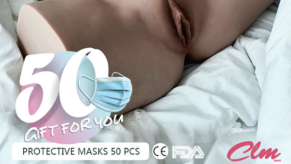 CLM(Climax Doll) Gift You Protective Masks For Free